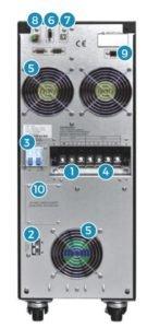 UPS Posterior 6 y 10 kVA